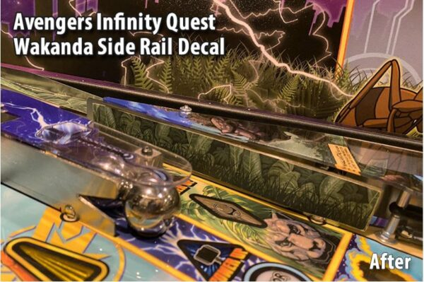 Avengers Infinity Quest Wakanda and Apron Decals 2