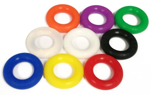 7-16 silicone competition pinball rubber
