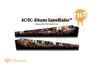 ACDC Pinball Albums Sideblades