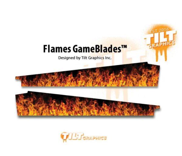 ACDC Pinball Flames Gameblades
