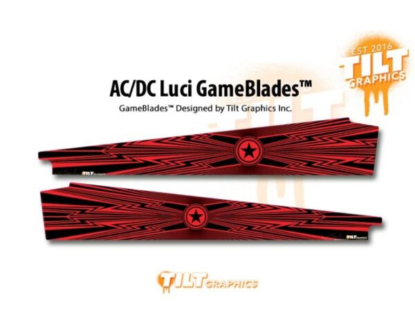 ACDC Luci Pinball Game Blades