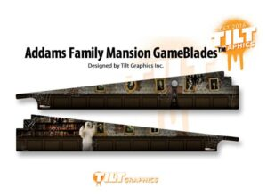 Addams Family Pinball Game Blades