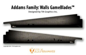 Addams Family Pinball Machine Wall Gameblades
