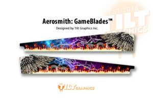 Aerosmith Wings Pinball Gameblades