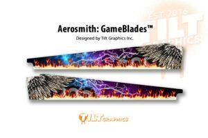Aerosmith Wings Pinball Gameblades