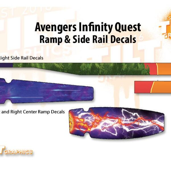 Avengers Infinity Quest Ramp and Rail Pinball 1