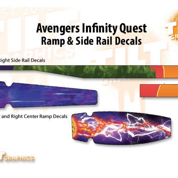 Avengers Infinity Quest Ramp and Rail Pinball 1
