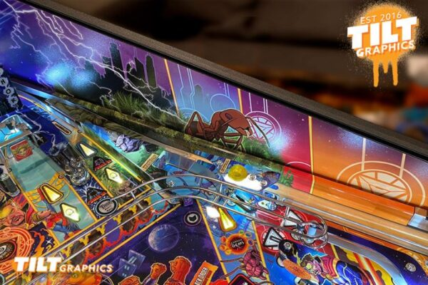 Avengers Infinity Quest Ramp and Rail Pinball 3