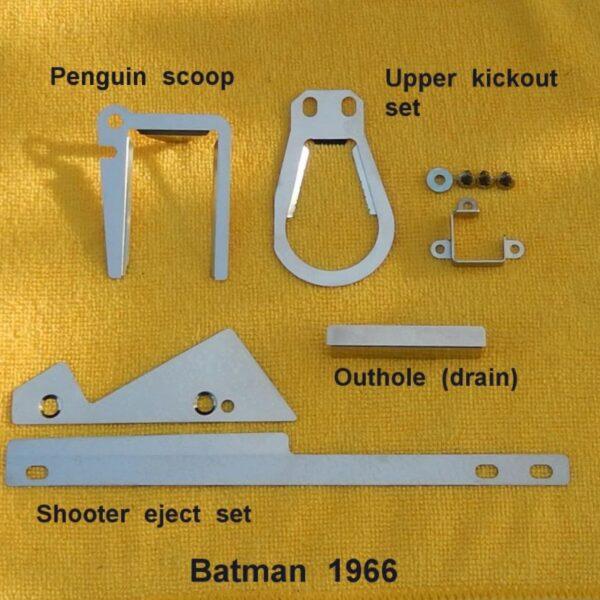 Batman 66 Cliffy Pinball Protectors