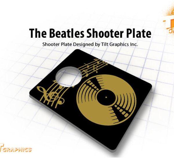 Beatles Pinball Shooter Rod Cover