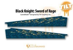 Black Knight Sword of Rage Pinball Game Blades