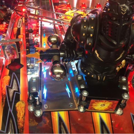 Black Knight Sword of Rage Pinball Illuminated Ramp Mod
