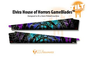 Elvira House of Horror Pinball Gameblades