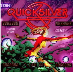 Quicksilver Pinball Backglass