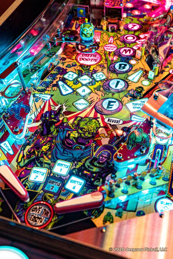 Retro Atomic Zombie Adventureland Arcade