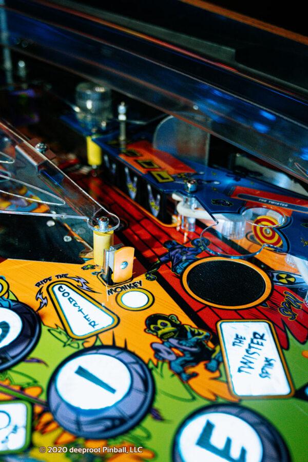 Retro Atomic Zombie Adventureland Bowlinf 2