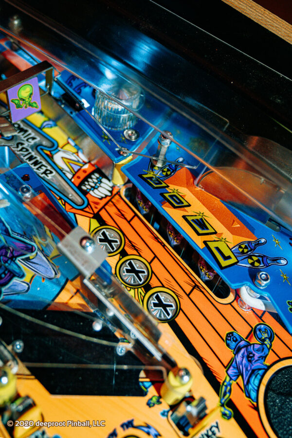 Retro Atomic Zombie Adventureland Bowling