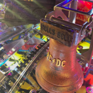 ACDC Pinball Bed Cover Mod