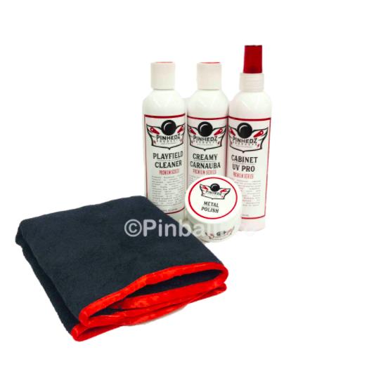 Pinhedz Premium Collection Pinball Machine Cleaner