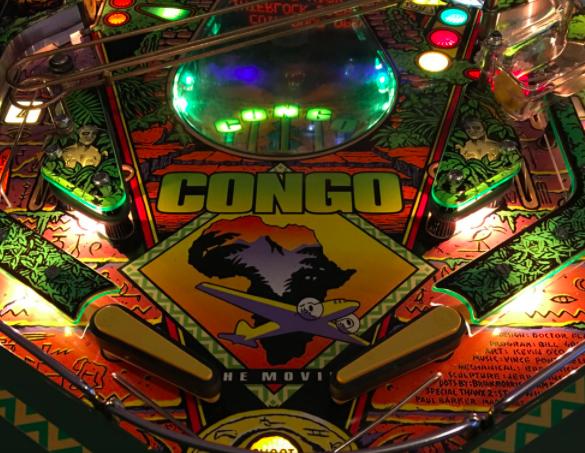 Congo Pinball Plastic Protectors
