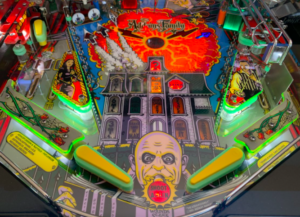 The Addams Family Pinball Plastic Protectors