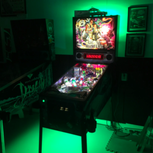 Pinball Machine Under Cabinet Lighting Green
