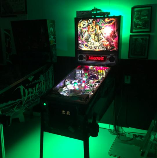 Pinball Machine Under Cabinet Lighting Green