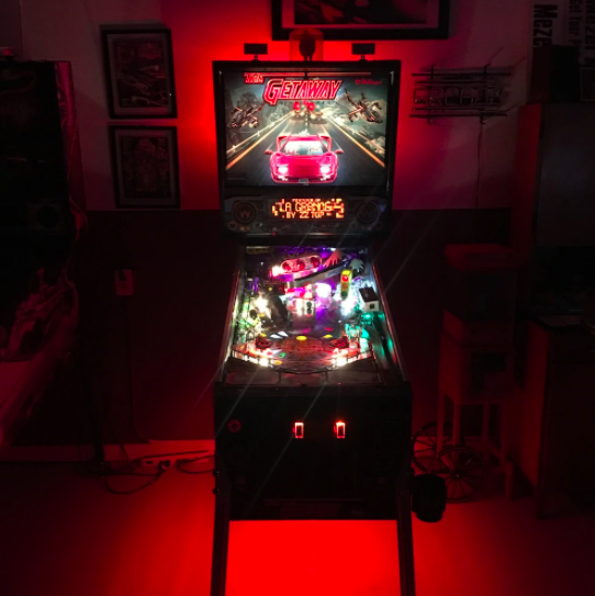 Pinball Machine Under Cabinet Lighting Red