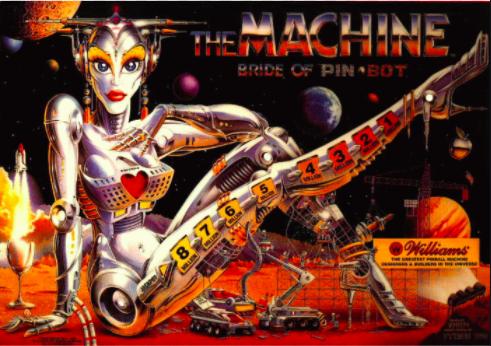 Bride of Pinbot Pinball Machine