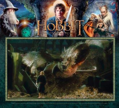 The Hobbit Pinball Translite