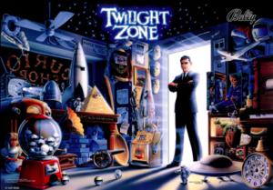 Twilight Zone Mirror Backglass