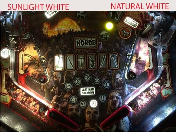 Comet LED - Sunlight Vs Natural White