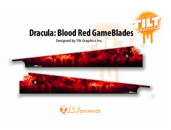 Bram Stoker's Dracula Pinball GameBlades Blood Red