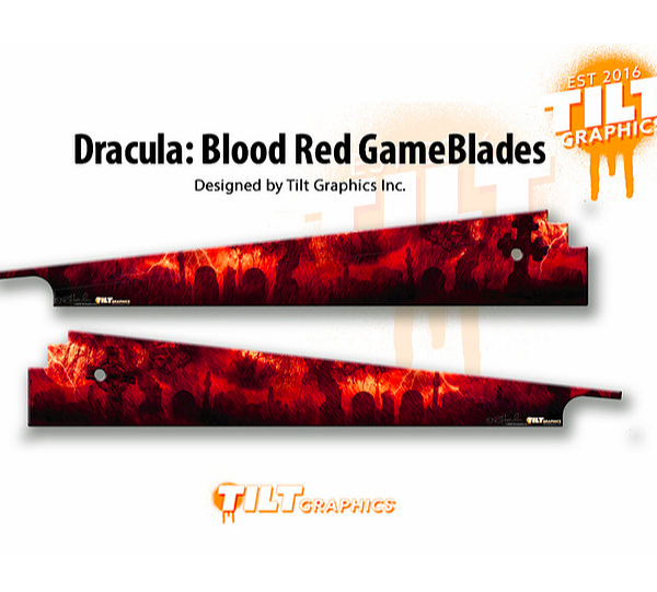 Bram Stoker's Dracula Pinball GameBlades Blood Red