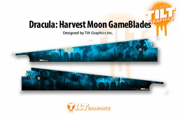 Bram Stoker Dracula Harvest Moon Pinball GameBlades