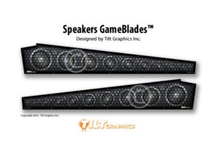 Pinball Speakers GameBlades