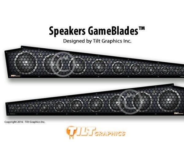 Pinball Speakers GameBlades