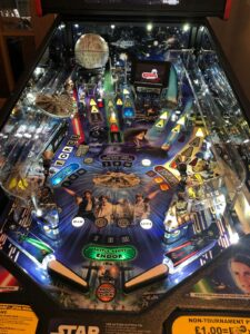 Star Wars Pinball Plastic Protectors
