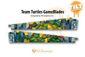 TMNT Stern Pinball Gameblades
