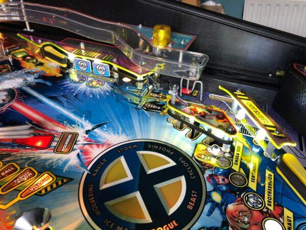 X Men Pinball Plastic Protectors 2