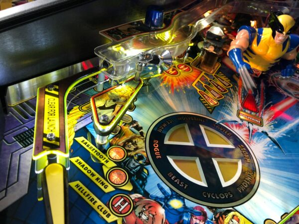 X Men Pinball Plastic Protectors