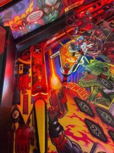 Deadpool Pinball Plastic Protectors