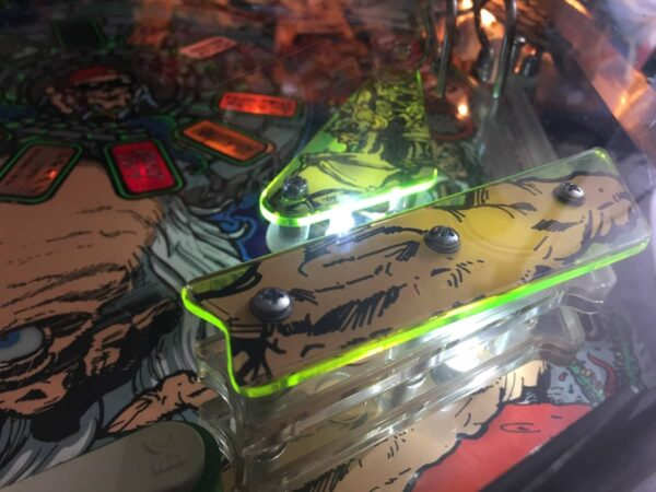 Tales from the Crypt Pinball Plastic Protectors 2