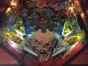 Tales from the Crypt Pinball Plastic Protectors