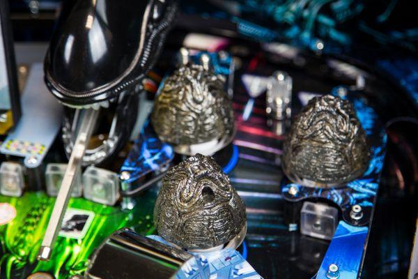 Alien Pinball Eggs Pop Bumpers