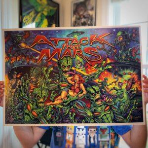 Brian Allen Attack From Mars Print