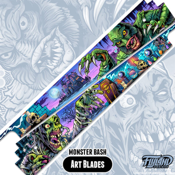 Monster Bash Alternate Sideblades By Brian Allen