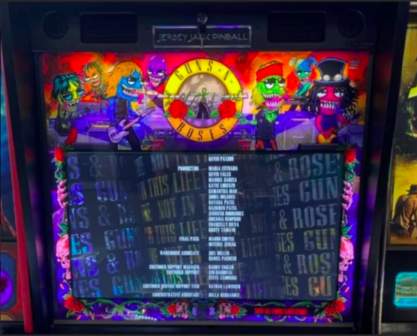 Guns N Roses Pinball Illumination Kit