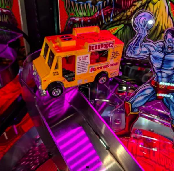 Deadpool Pinballl interactive chimichanga truck mod