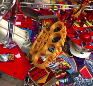 Deadpool Pinball Brass Knuckles Mod
